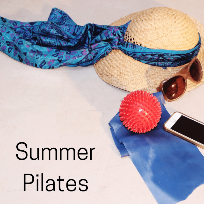 Zoom Pilates for the Summer Holidays 2020